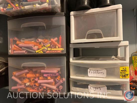 Plastic Storage Containers (Contents Not Included)