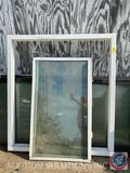 Picture Window Frame Measuring 54 1/4