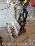 Dirt Devil Jaguar Pet Vacuum Model No. UD70230, Boekamp Space Heater, Roll of Magic Cover Measuring