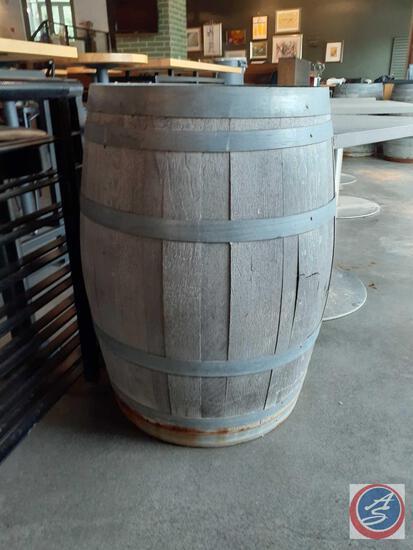 Wood Barrel