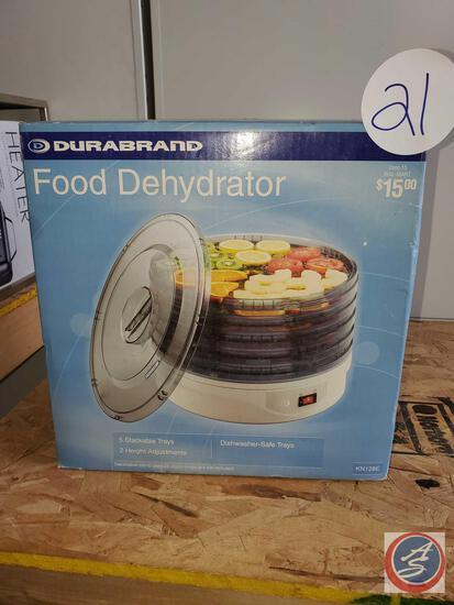 Durabrand food dehydrator new in sealed box