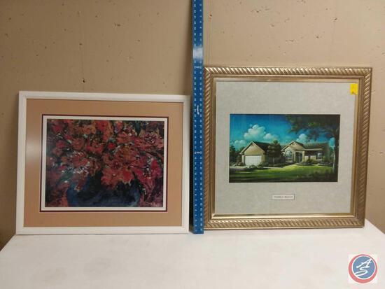Framed Print, Pebble Beach Framed Print