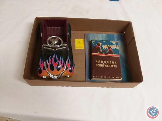 Vintage Hot Rod, Handbook for Scoutmasters, Painting