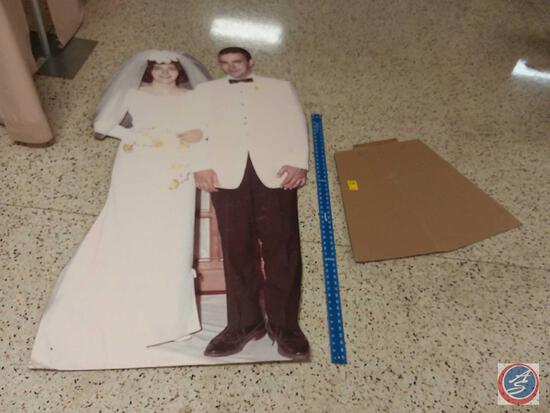 Wedding Photo Card Board Cut Out