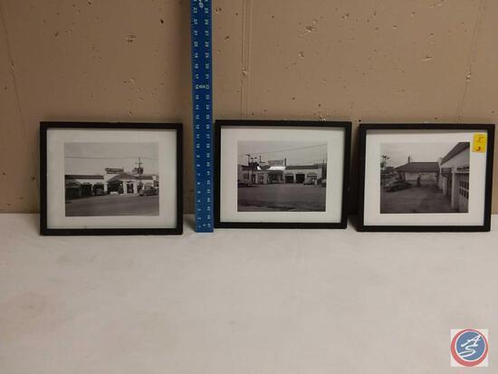 Framed Original Photos of the Old Dundee Garage (3)