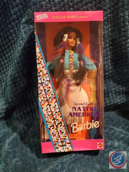 Native American Barbie 1993 second edition new in box