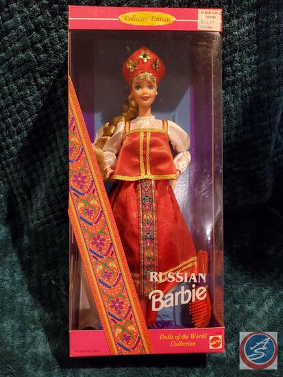 Russian Barbie 1996 New In Box