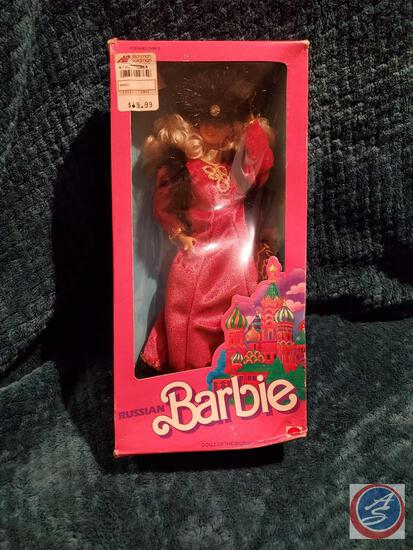 1988 Russian Barbie New In Box some significant shelfware