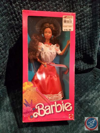 1988 Mexican Barbie New In Box