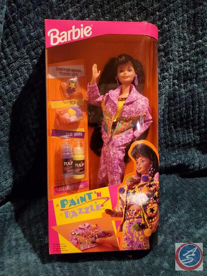 Paint 'N Dazzle Barbie 1993 New In Box