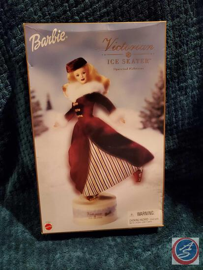 Victorian Ice Skater Barbie 2000 new in box