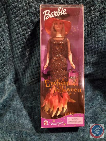 Enchanted Halloween Barbie 2000 New In Box