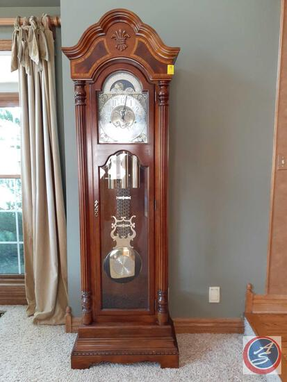 "Slight Grandfather Clock 86"" X 12.5"" X 23"""