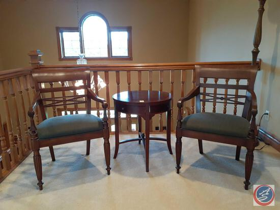"""{{2X$Bid}} Henredon Vintage Chairs 36"""" tall (Table Sold Separately)"""