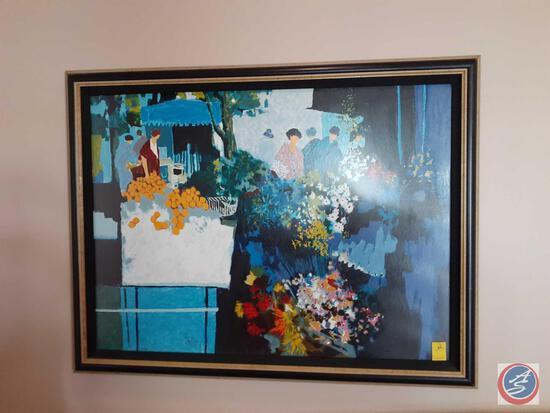 Framed Print 99/350 (Artist Illegible)