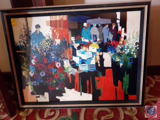 Framed Print 225/350 (Artist Illegible)
