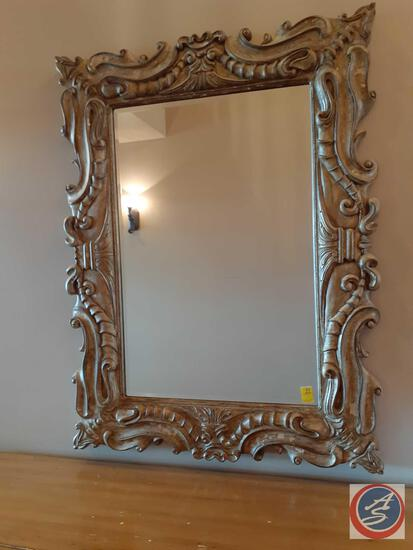 "Vintage Wall Mirror 55"" X 42"""