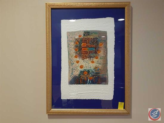 Pico #3 Framed Print 108/350 (Artist Illegible)