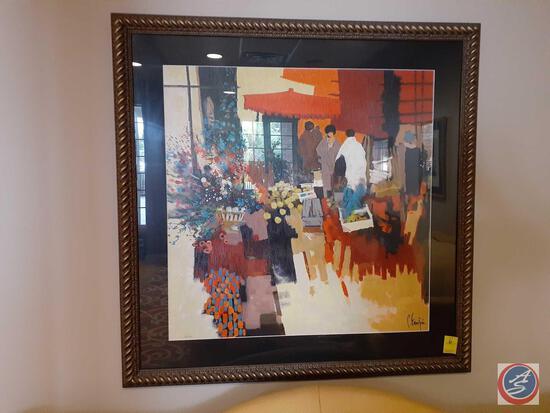 Framed Print 329/350 (Artist Illegible)
