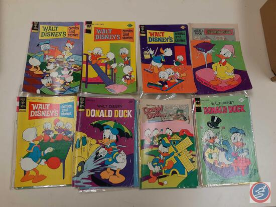 Comic Books In Plastic Including: The Inspector and the Pink Panther, Daffy Duck, M.A.R.S. Patrol