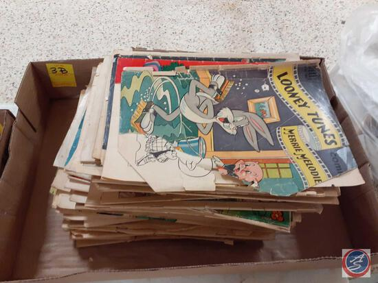 Assorted Comics Including: The Little Wise Guys, The Adventures of Super Circus, Tarzan, Woody