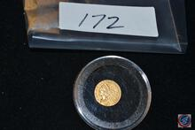 Two and a Half Dollars 1911 Gold Piece