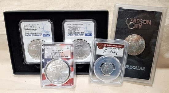 MORENO HIGH END COINS ONLINE AUCTION