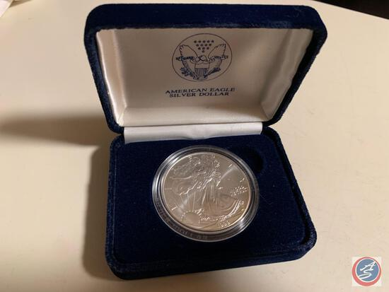 Silver Dollar American Eagle 1999 1 oz fine silver