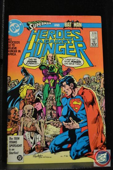 Superman and Batman 1986 DC Comic