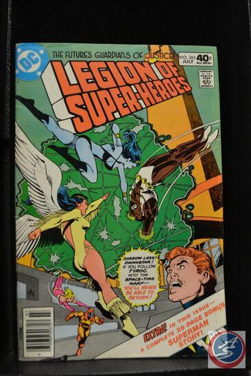 The Future's Guardians of Justice Legion of Superheroes No. 265 July 1980
