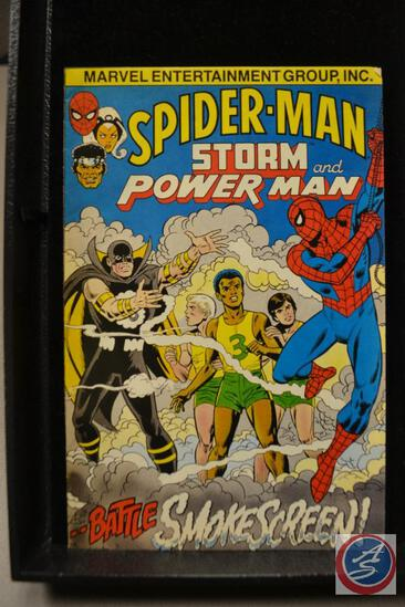 Spider-Man Storm and Power Man 1982Marvel Comics complimentary Cancer Society Copies