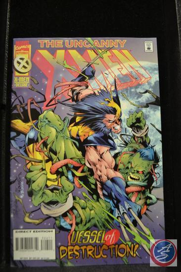 The Uncanny X-MEN Deluxe September 1995 Marvel Comics