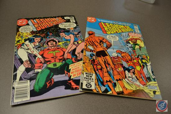 The Exaggerated death of Ultra Boy Legion of Superheroes April 1981 & Legion of Superheroes May 1981