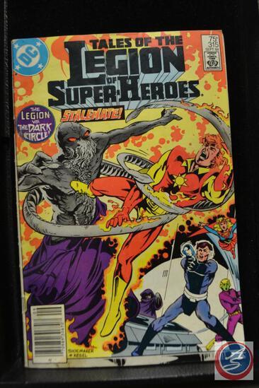 Tales of the Legion of Superheroes Stalemate September 1984