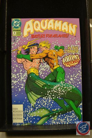 Aquaman Battles for Atlantis March 1992 DC Comics