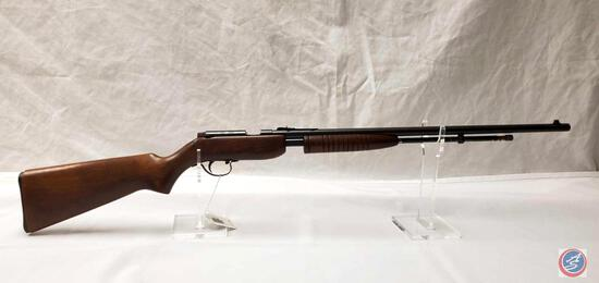 Noble Model 33 22 S-L & LR Rifle Pump Action Rifle with 23 inch barrel. Ser # NSN-313