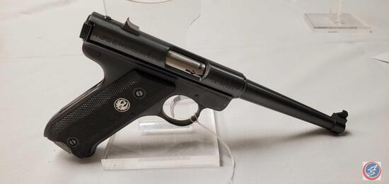 Ruger Model MK I 22 LR Pistol Semi-Auto Pistol with 6 inch barrel and 1 magazine and pistol rug. Ser