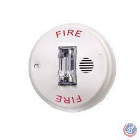 Gentex Evac Signal Selectable Ceiling Strobe Alarm Gcs24cw, White