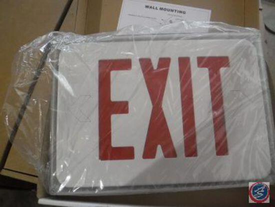 Wet Location Exit Sign Single-Face RXL23W Series