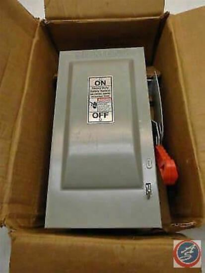 Siemens HF221N Heavy Duty Safety Switch 30A 240VAC 2P/3W N1 Fused HD DIS