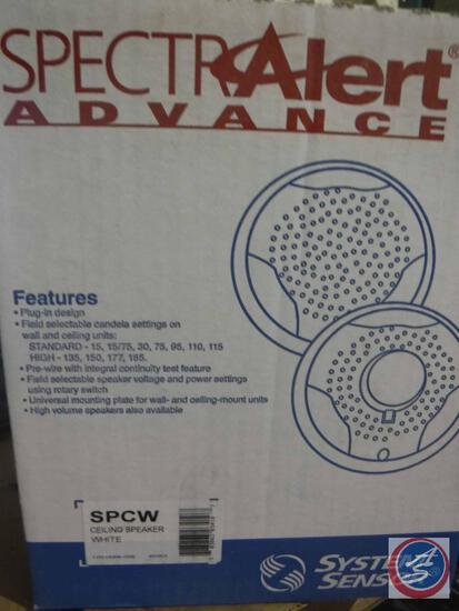 System Sensor, SPCW CEILING SPEAKER, WHITE