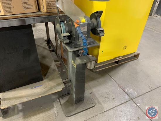 Craftsman 1/4 hp bench grinder on stand, 110volt
