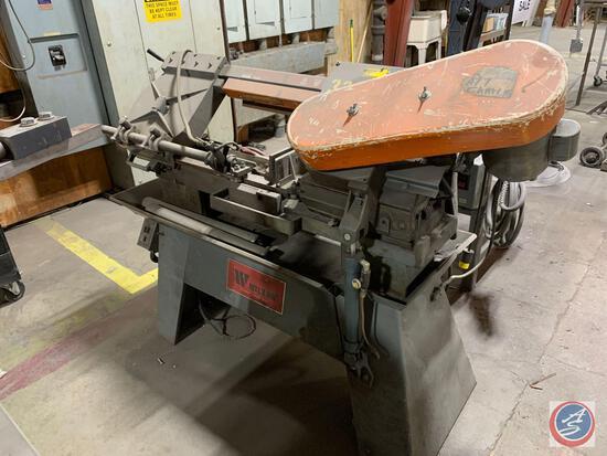 Wilton model 3535 Horizontal band saw 110 volt