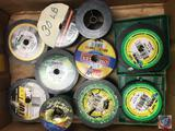Fishing Line various styles and weights by PowerPro, Zebco, Berkley and more (partials)