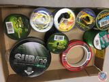 Fishing Line various styles and weights by Subline, South Bend, Berkley and more (partials)