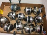 (12) Zebco fishing reels 33, Legacy (used)