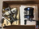 2) Shimano fishing reel - 2000FA and Ambassadeur fishing reel 5600 C4 (used)