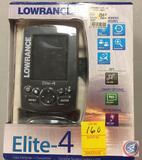 Lowrance Elite-4 Color Fishfinder + Chartplotter