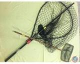 Fish landing net (large) and wood handle minnow net