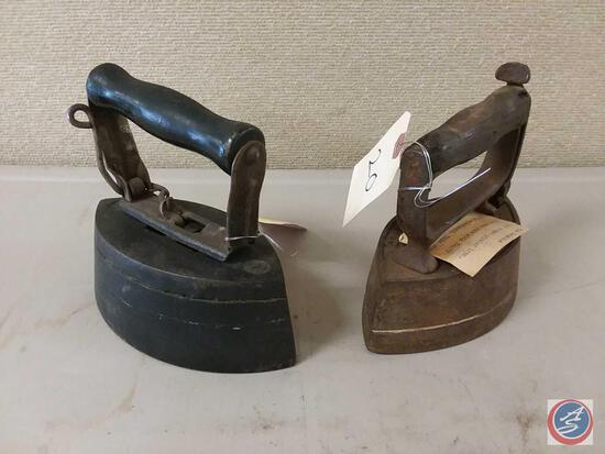 (2) Sad Irons see photos for more information